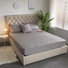 200x220x25cm 100% algodón Jacquard colchón Topper cubierta del colchón Colchao almohadilla de colchón transpirable para colchón Protector