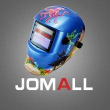 cartoon Solar auto darkening welding mask/helmet/welder cap/welding lens/eyes goggles for MMA TIG MIG welding machine