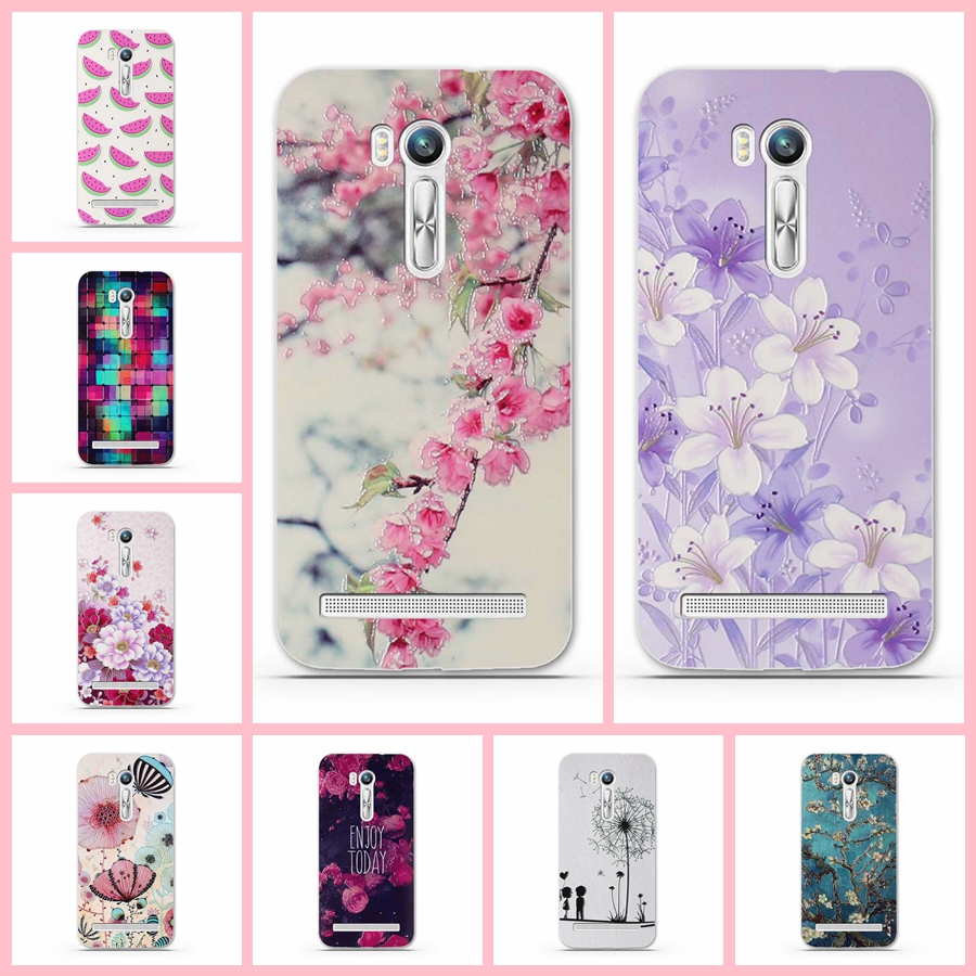 For Asus Zenfone Go ZB551KL Case 5.5inch 3D Relief painted soft Silicone Soft Back Covers for Asus zenfone Go TV G550KL