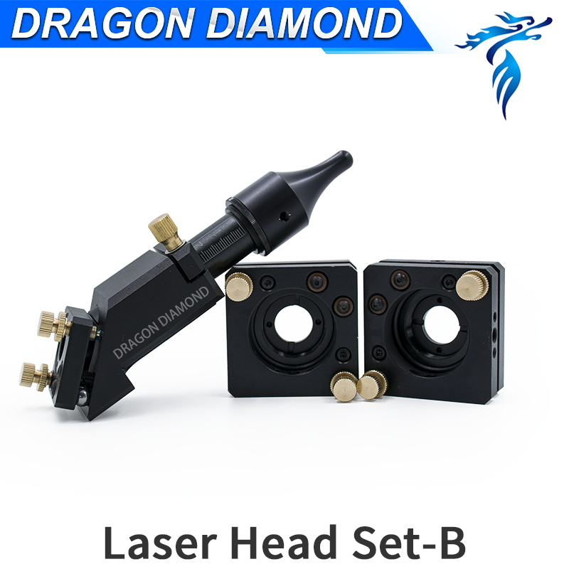 Co2 Laser Head reflection laser Mirror Mount Dia 20mm FL50.8 63.5mm mirror 25mm diameter for laser engraving cutting machine air assistant laser lens dia 20mm fl50 8mm out dia 25mm co2 cutting machine laser head pen tube
