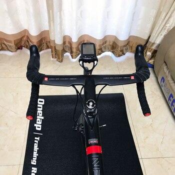 2020 New EC90 black matte Full Carbon Fiber Integrated Road Bicycle Handlebar Bike Handle Bent bars with stem 400/420/440mm