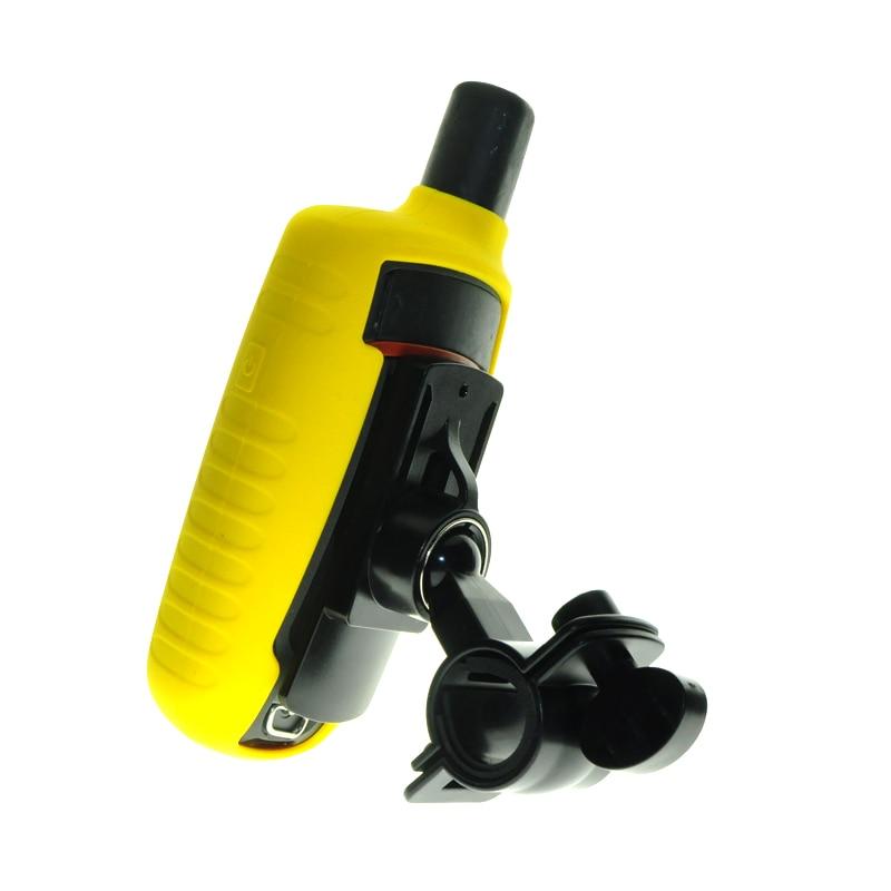 Proteja Case Capa Da Pele de Silicone + Bicicleta Rotativo Montar Titular Suporte para GPS Garmin GPSMAP 62sc 62 64 62 s 62st 62stc 63sc 64st