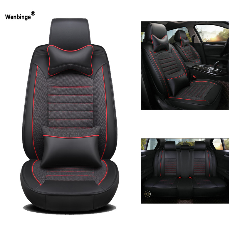 Universal Leather Car Seat Cover For Subaru Forester