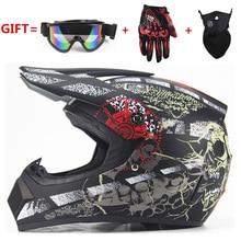 NEW Off Road motorcycle Adult motocross Helmet ATV Dirt bike Downhill MTB DH racing helmet cross Helmet capacetes DOT moto
