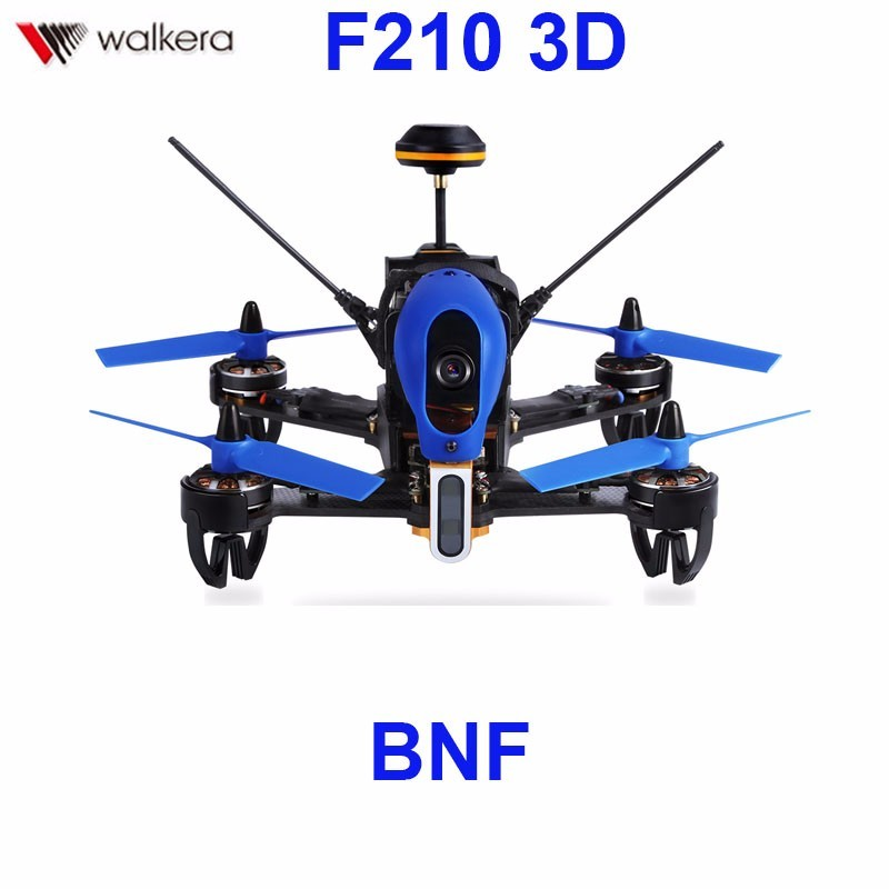 Walkera F210 3D Racer Without Transmitter Racing Drone Quadcopter with OSD / 700TVL Camera BNF F18851 радиоуправляемый квадрокоптер walkera voyager 3 basic version 2 bnf