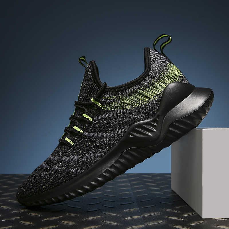 2019 Nieuwe Aankomst Trend Mannen Trainers Comfortabele Mannen Schoenen Sport Loopschoenen voor Volwassen Outdoor Merken Sneakers Big Size 39 -47