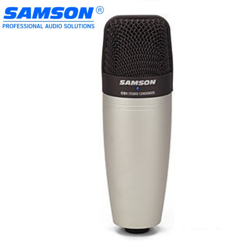 100% Original SAMSON C01 Condenser Microphone for recording vocals, acoustic instruments and for use as and overhead drum mic цена и фото