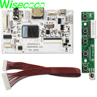 1 5 lcd 5 inch 350 Nits 480*272 AT050TN33 v.1 LCD Panel?with touch screen HDMI usb controller board (5)