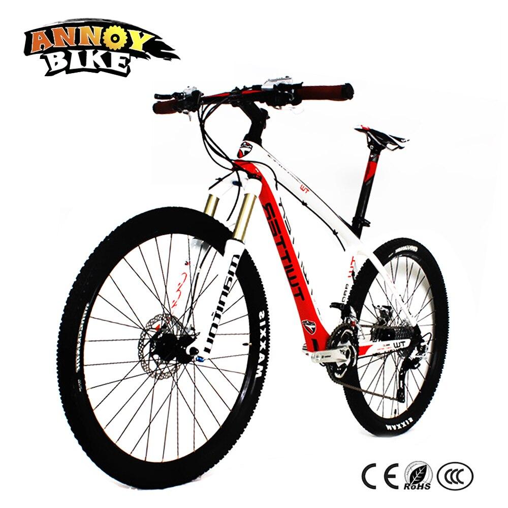 ANNOYBIKE 33/22 vitesse en Fiber de carbone BMX vélo TW9800 vtt VTT 26