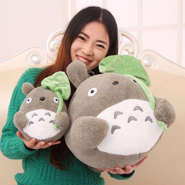 My Neighbor Totoro Plush Soft With Lotus Leaf Toys