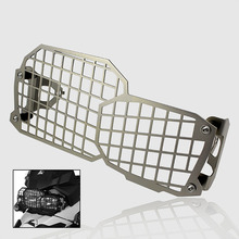 Stainless Steel Silver Motorcycle Headlight Guard Cover Protector Grill For BMW F650GS F700GS F800GS F800R 2008-2016 Free Ship