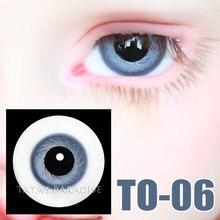 1 3 1 4 1 6 BJD Eyes 14mm 16mm light blue Eyeballs for SD MSD