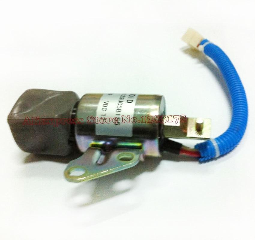 Solenoid fits Kubota D722 D902 Z482 SA-5176-12 1756ES-12SUC5B1S5