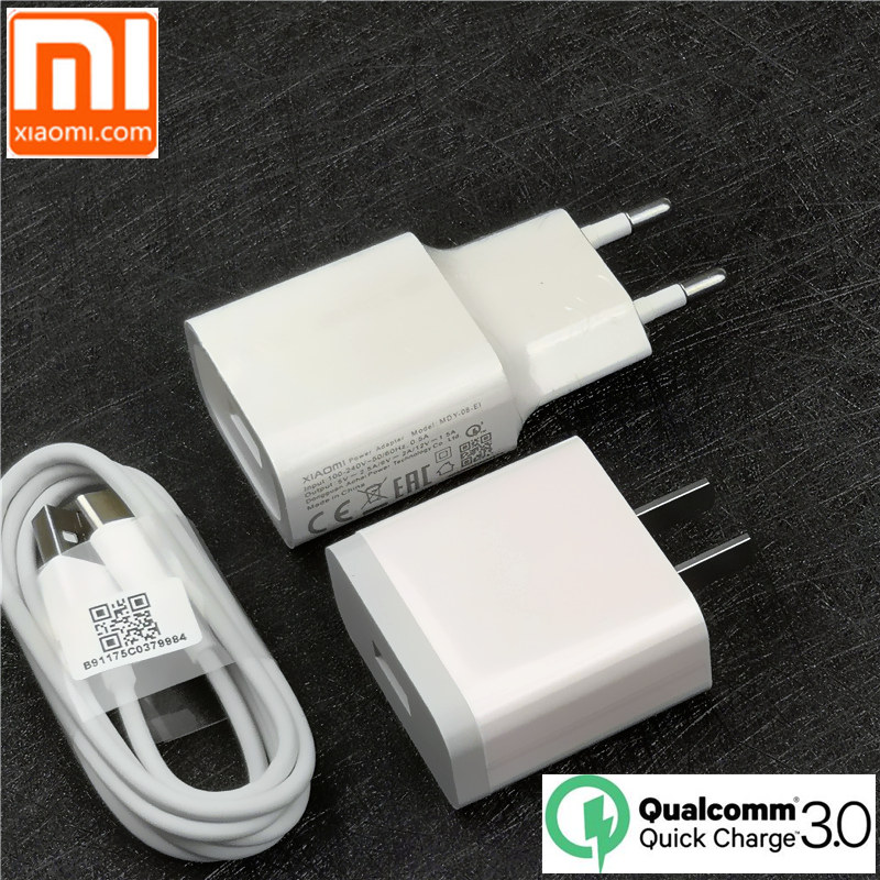 Mobile Phone Chargers Cellphones & Telecommunications Original Eu Xiaomi Mi A2 Charger Qc 3.0 Quick Charge Fast Charger For A1 8 Se 6 5s 5 Redmi Pro Mi5s Mi5 Mi6 Mi8 Mix 2 2s Max 2 3 A Great Variety Of Models