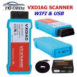 Narzędzie diagnostyczne do samochodów OBD2 VXDIAG VCX NANO WIFI/USB wersja dla Mazda dla Ford 2 w 1 V112 automatyczne narzędzie diagnostyczne skaner