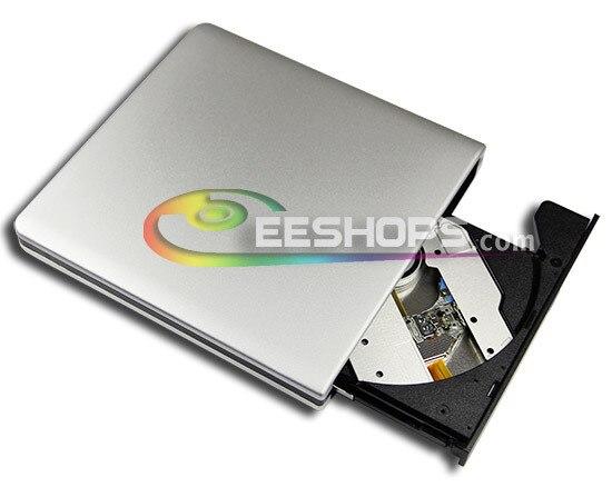 for Toshiba Samgsung Ultrabook Slim USB 3.0 External Blu-ray Recorder BDR-TD04 6X 3D BD-RE DL XL Bluray Writer DVD Drive Case