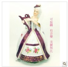 Taiwan imported ceramic music box business gifts birthday gift ideas creative female students preferred Christmas
