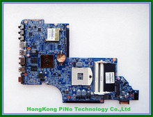 Free Shipping 641487-001 for HP DV6 laptop motherboard HM65 chipset HD6490/1G DUO U2 100% Tested 60 days warranty