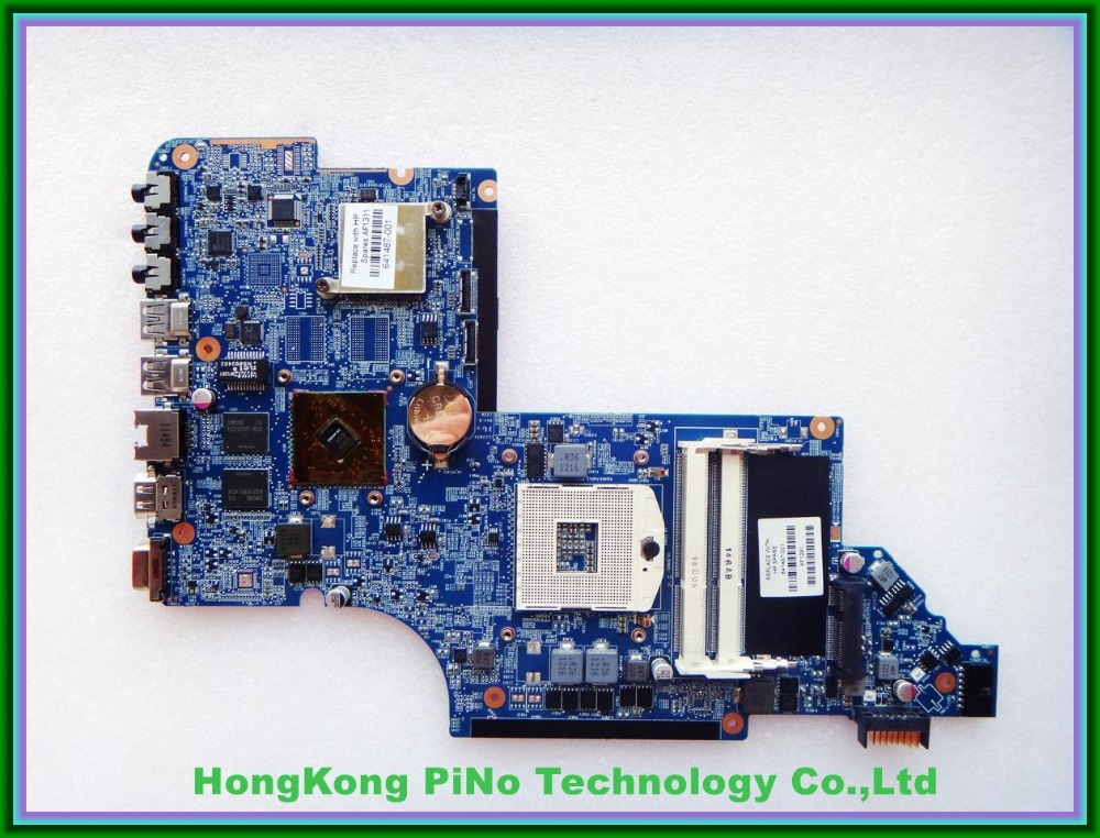 Free Shipping 641487-001 for HP DV6 laptop motherboard HM65 chipset HD6490/1G DUO U2 100% Tested 60 days warranty мозаика синтез сказочная азбука