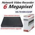 Английская Версия NVR DS-7616NI-E2/8 P 16-КАНАЛЬНЫЙ 2 SATA 8PoE Сетевой Интерфейс Сетевой Видеорегистратор для Системы HD CCTV поддержка обновления
