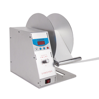 Automatic self adhesive label rewinder paper winder clothing tag automatic barcode printer rewinder