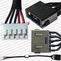 Testado novo laptop dc tomada de energia conector com cabo tomada porta fio arnês para lenovo z510 série dc30100kt00