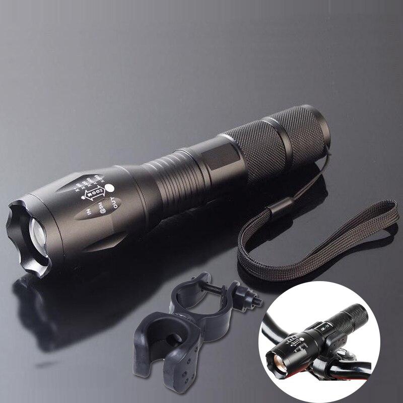 5000 Lumen Fahrrad Licht LED 5 Modus XM-L T6 Bike Vorne Taschenlampe Wasserdichte Taschenlampe Für Fahrrad Berg Radfahren Licht Mit montieren