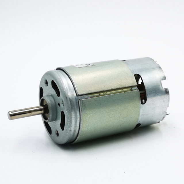 Japan Mabuchi RS-775VF motor 12V24V36V Low speed High torque 775 motor(6 5)