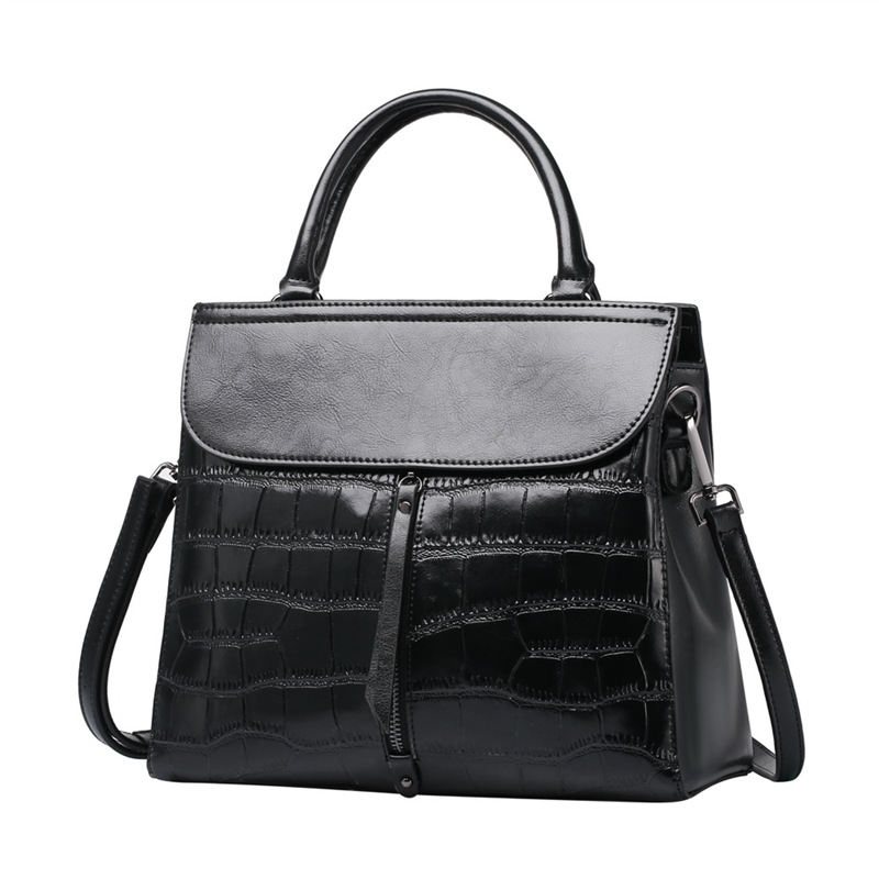 Fashion women handbag cow split leather shoulder bag female messenger bags cowhide leather handbags ladies Crossbody Bags #Q0756 women messenger bags cow split leather bag female handbag fashion crocodile evening bags red shoulder bag handbags bolsa tasche
