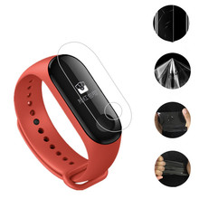 ZUCZUG 1pcs Protector Miband4 Mi band 4 HD Ultra Thin Anti-scratch Screen Protective Film for Xiaomi Band Band4