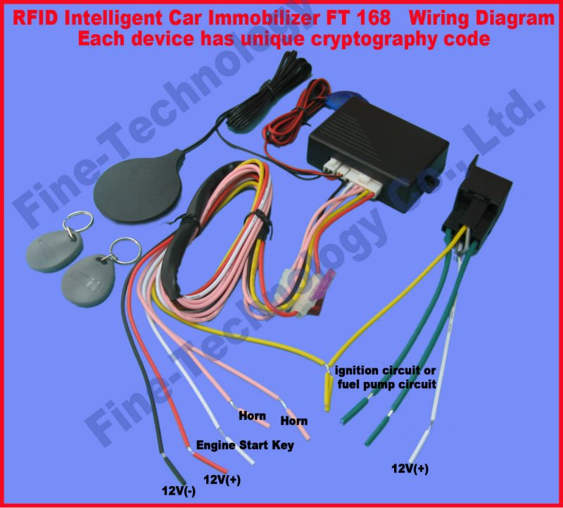 Free Shipping Effective Anti Theft System 12voltage Rfid Immobilizer Rhaliexpress: Hyundai Alarm Wiring Diagram At