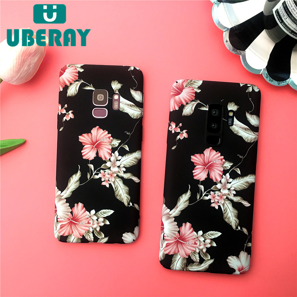 e80c12e7065e MYSUN S9 Case For Samsung Galaxy S9 Plus Luxury Fashion Flower Case For  Samsung Note8 IMD Hard PC Phone Case For Samsung S8plus