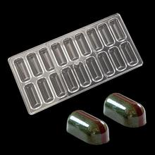 DIY 3D bars shape Polycarbonate Chocolate Mold Candy Mould Food Grade Chocolate PC Tray Chocolate Candy Pastry Tool free shipping pencil shaped chocolate gifts 3d puzzle toy stickers 50g sweets and candy food candy box