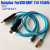2020 original new Octoplus FRP USB UART 2 in 1 Cable( micro+type c ) EFT UART cable For FRP Dongle, EFT Dongle for samsung