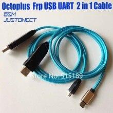 2020 oryginalny nowy kabel Octoplus FRP USB UART 2 w 1 (micro + typ c) kabel EFT UART do klucza FRP, klucz EFT do samsung