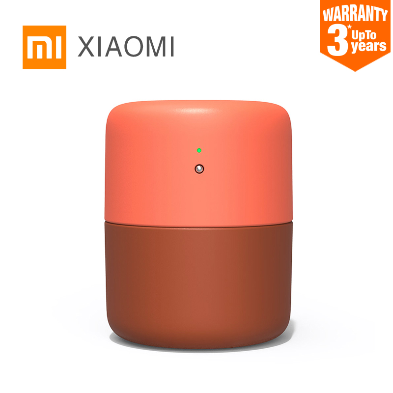 New XIAOMI MIJIA VH Desktop Humidifier Air dampener Aromatherapy diffuser essential oil ultrasonic Warm Mist Quiet Night light-in Humidifiers from Home Appliances