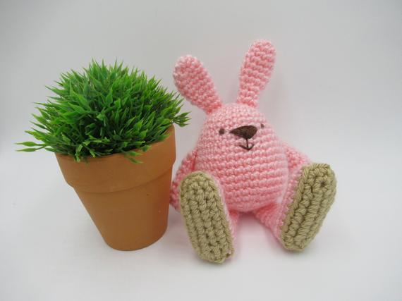 Crochet Toys  Amigurumi  Lovely Bunny