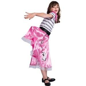 Image 2 - Kaniş Etek Kız Cadılar Bayramı Kostümleri Çocuklar Için
