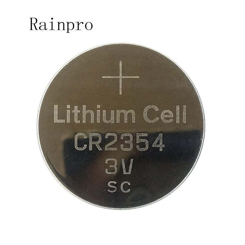Rainpro 2PCS/LOT CR2354 2354   Button 3V LITHIUM BATTERY  Good Quality