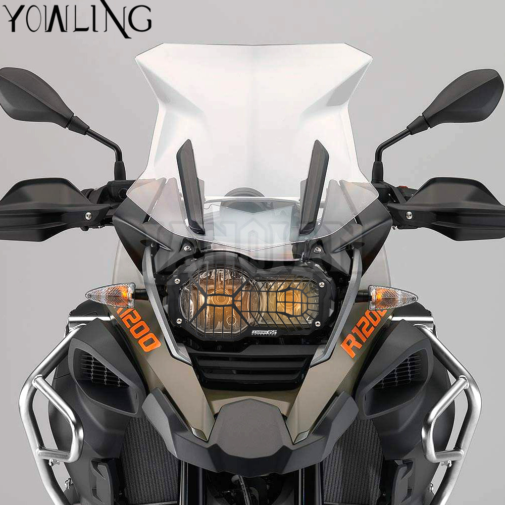 CNC Aluminum R1200GS Headlight Guard Grille Protector Cover Protectors For BMW R 1200 GS Adventure R1200 GS LC 2014 2015 2016