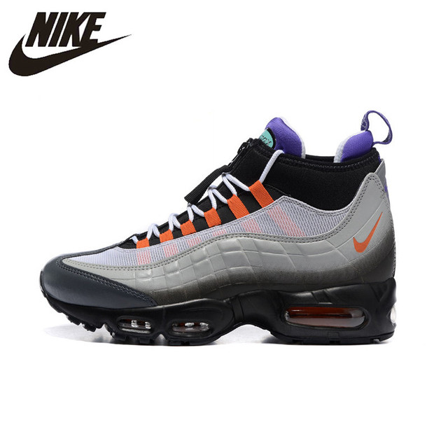 new arrival 52d25 2014f NIKE AIR MAX 95 SNEAKERBOOT Men s Running Shoes,Outdoor Sneakers Shoes,  Abrasion Resistant, Shock Absorption Non-slip 806809-078