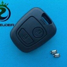 1 шт. новая Замена чехол КРЫШКА ДЛЯ Toyota Aygo 2 кнопки дистанционного брелока в виде ракушки без логотипа лезвие+ 2 шт потребительских упаковок для микро выключатели
