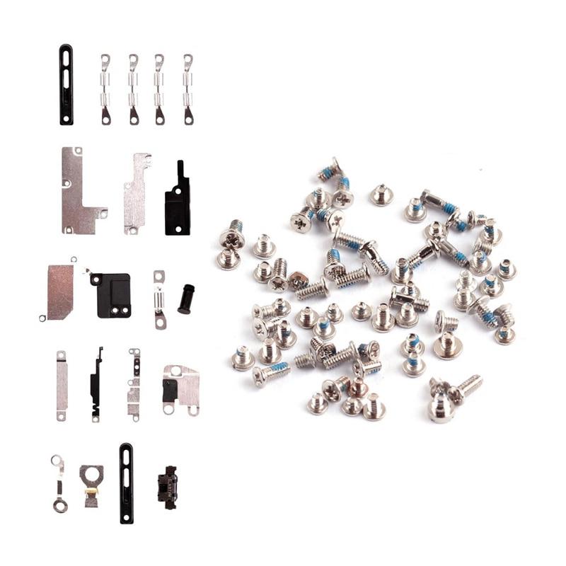 1 Juego de tornillos completos + soporte de Metal interior para iPhone 7 8 Plus 5,5 7G 8G X dentro de piezas pequeñas juego de placas de protección conjunto de piezas-in Cables flexibles para teléfonos móviles from Teléfonos celulares y telecomunicaciones on AliExpress