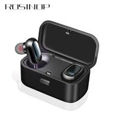 Rosinop Bluetooth Earphone i10 TWS Wireless Earphones For iphone xiaomi Earpiece Sport Earbuds auriculares bluetooth inalambrico
