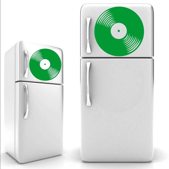 Sticker Disque vinyl Vintage