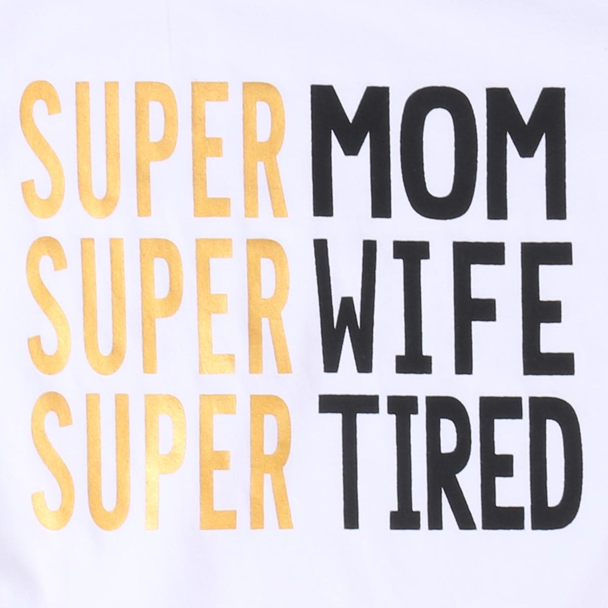Super Famiy შესაბამისი მაისური Mom - ბავშვთა ტანსაცმელი - ფოტო 3