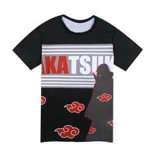 อะนิเมะเสื้อทีการ์ตูนนารูโตะU Zumakiด้านบนฤดูร้อนผู้ชายผู้หญิงคู่เสื้อยืดนักศึกษาแฟชั่นเสื้อ5รูปแบบHU475