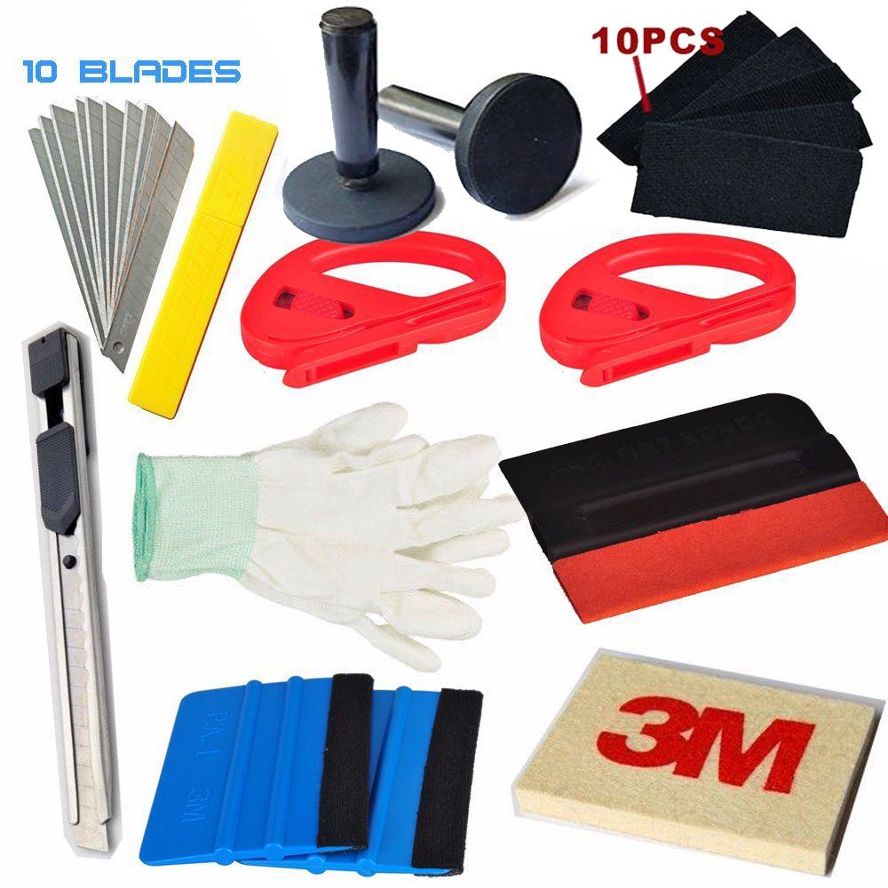 3M Felt Squeegee Decals Sticker Vinyl Film Installation Car Wrap Applicator Tool