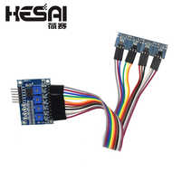 4 Channel Hall Sensor Hall Switch Tachometer Speed Counter Module
