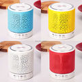 Wireless Bluetooth Speaker Hands-free Call LED Light Music Player Subwoofer Smart Speakers With Mic FM Radio Support TF/SD Card